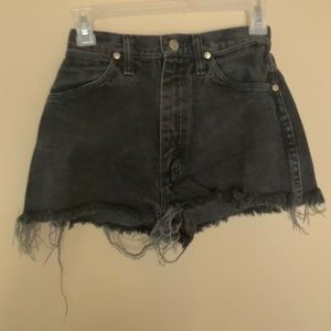 Vintage Wrangler High Waisted Cut-off Shorts